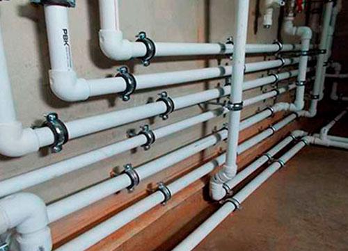 Замена разводки водоснабжения