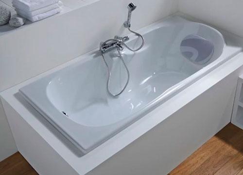 Установка и замена ванны