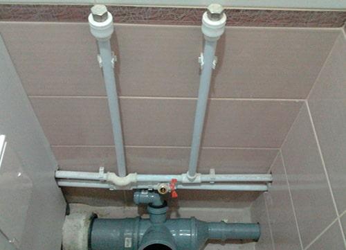 Замена разводки канализации